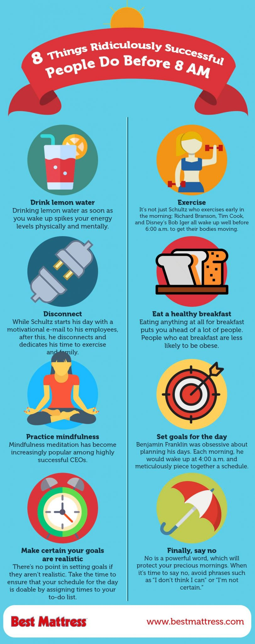 People Do Well If They Can >> 8 Things Ridiculously Successful People Do In The Morning Best