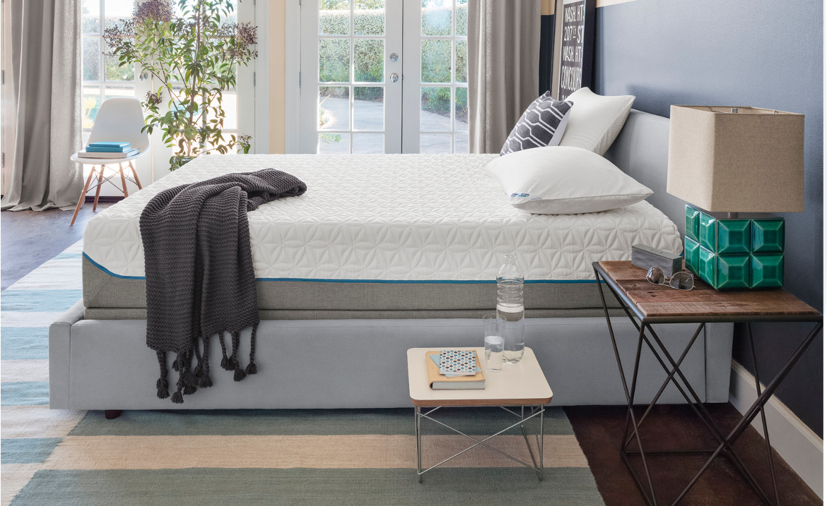 pillowy and comfortable by the time you climb into bed at night designed to offer a mediumsoft adaptive feel the tempurcloud supreme