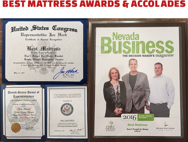 Best Mattress Awards & Accolades