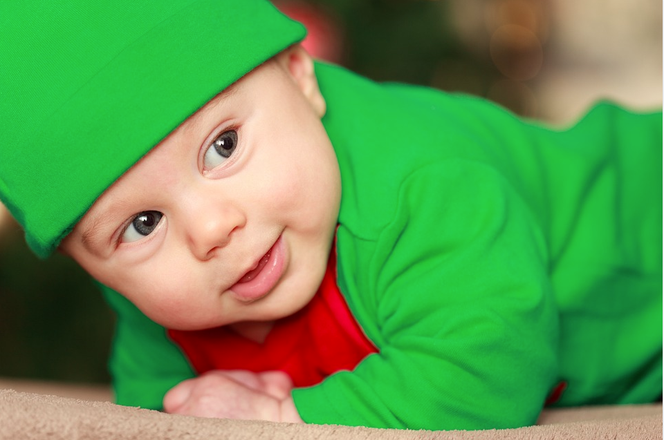 How to help a baby sleep during the Holidays from Best Mattress