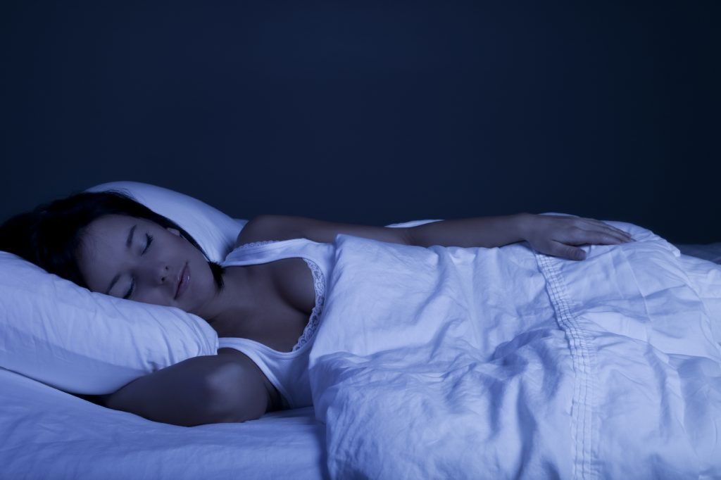 A dark, cool room will help you sleep more deeply.