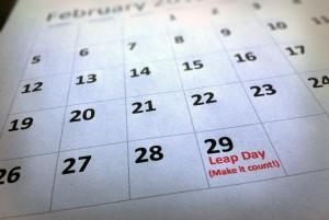 Leap Day Calendar
