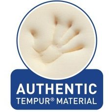 Authentic Tempur-pedic memory foam