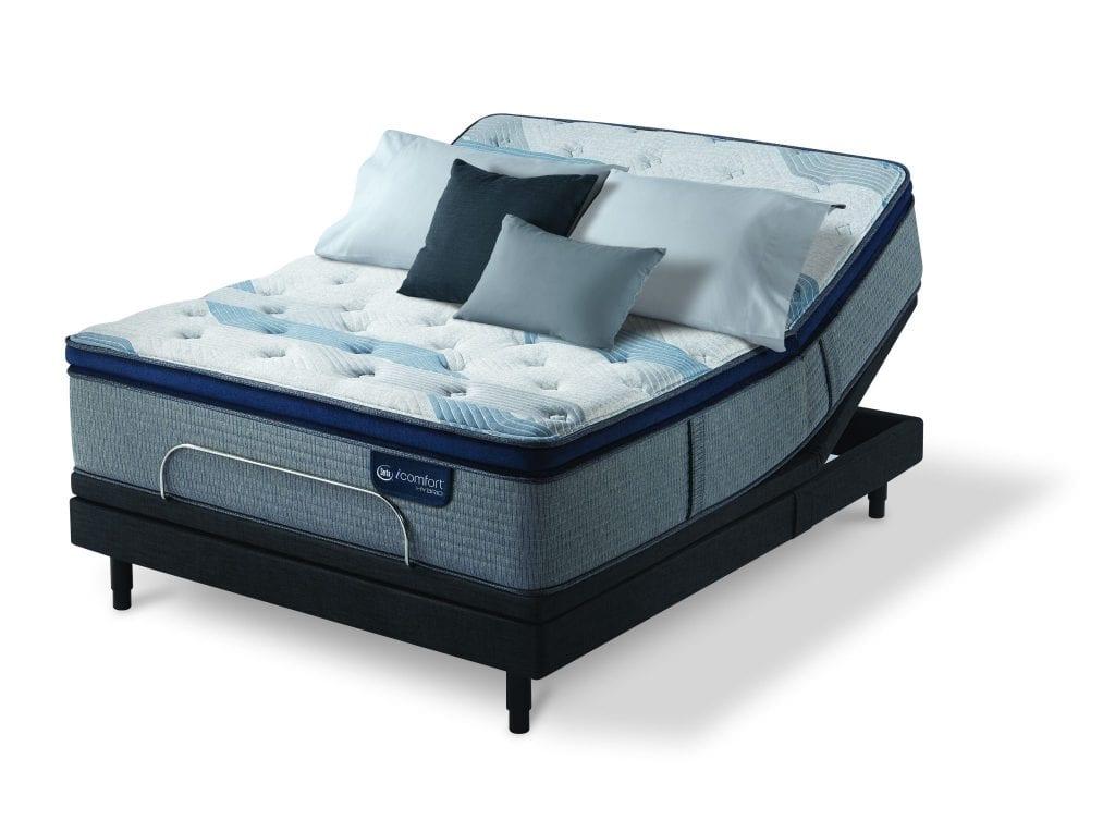The Best Mattress >> Blue Fusion 1000 Plush Pillow Top