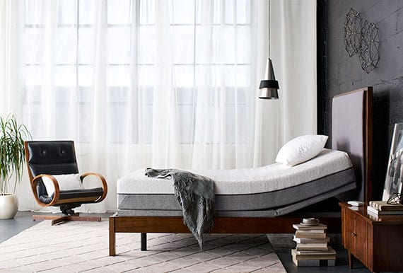 small room bed and furniture