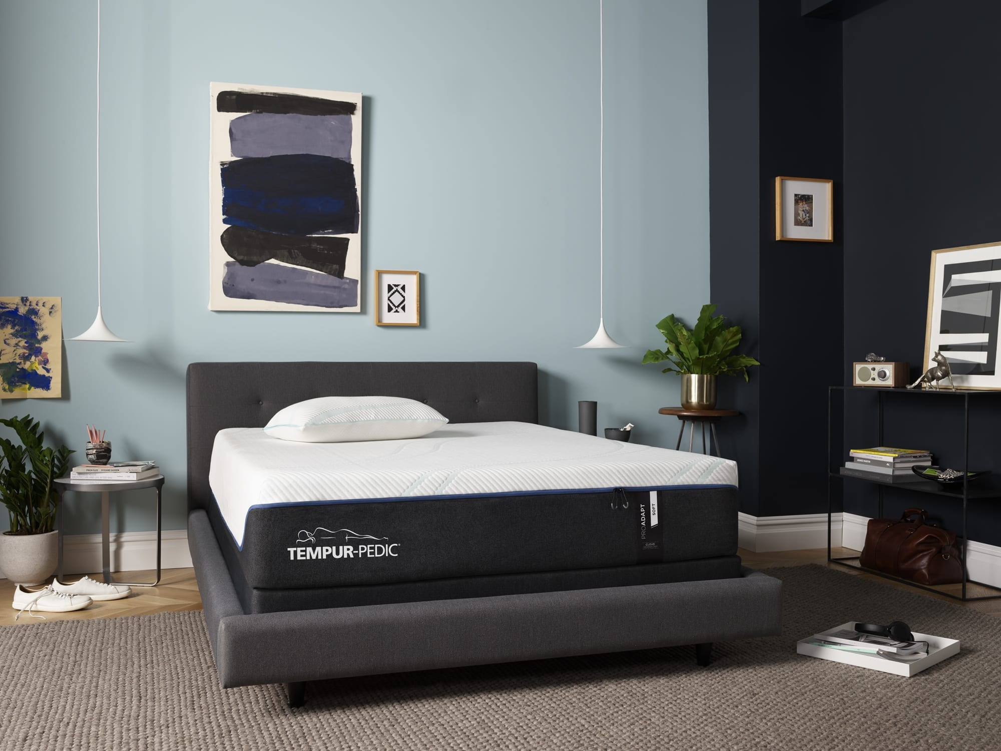 TEMPUR-ProAdapt® mattress in a room
