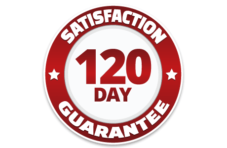 Mattress store 120 Day Satisfaction Guarantee