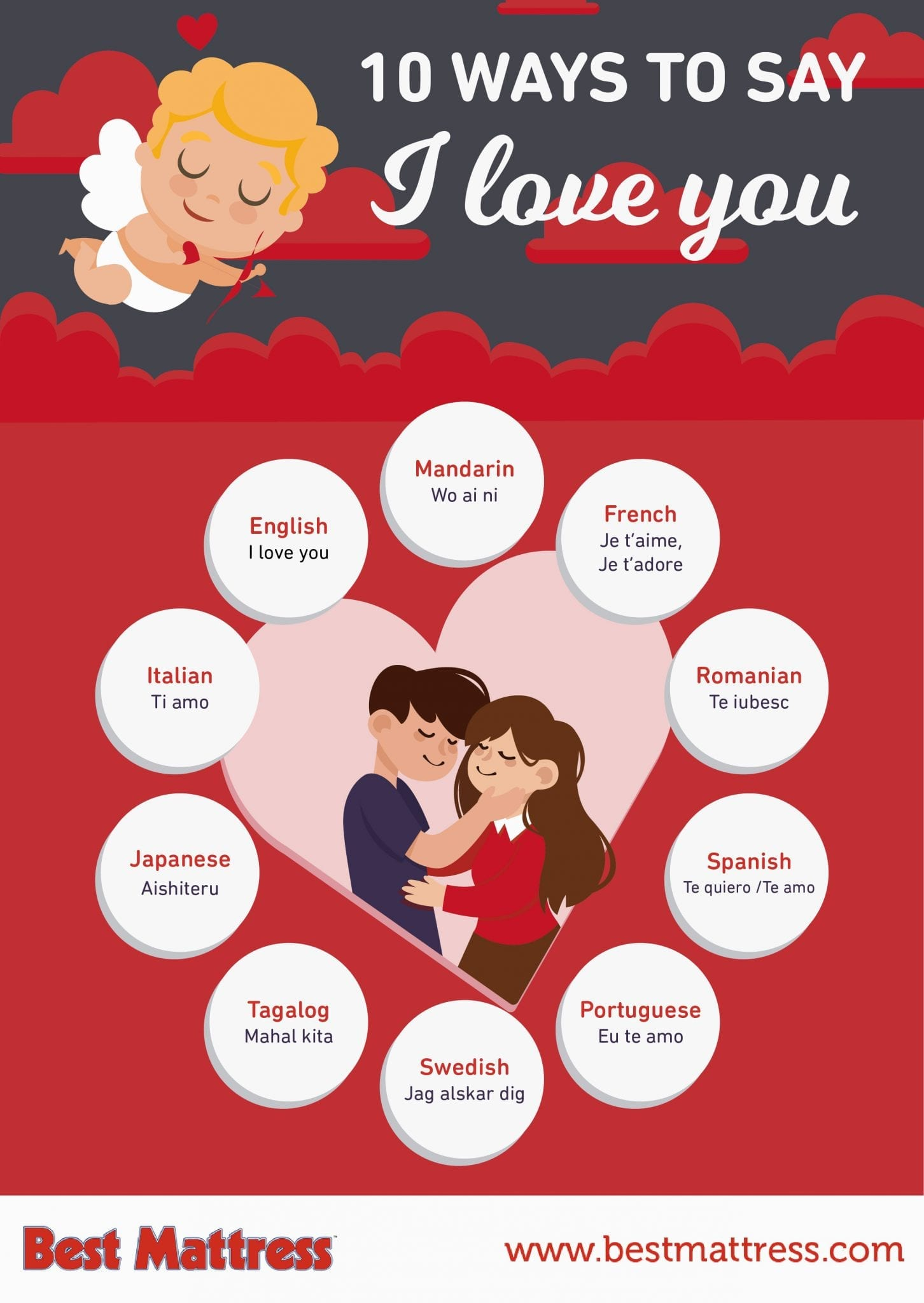 10 Ways To Say I Love You | Best Mattress