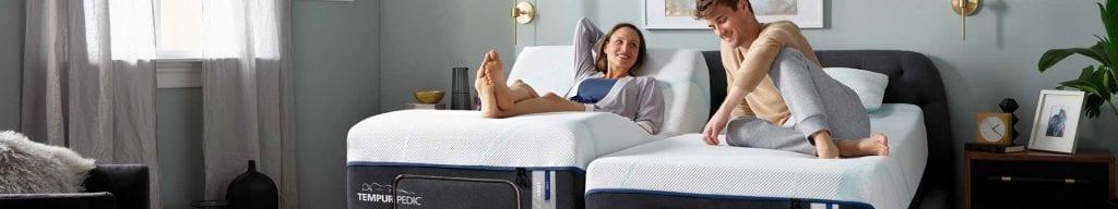 Tempurpedic dual adjustable king mattress