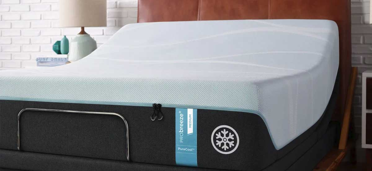 TEMPUR-PRObreeze Mattress in bedroom