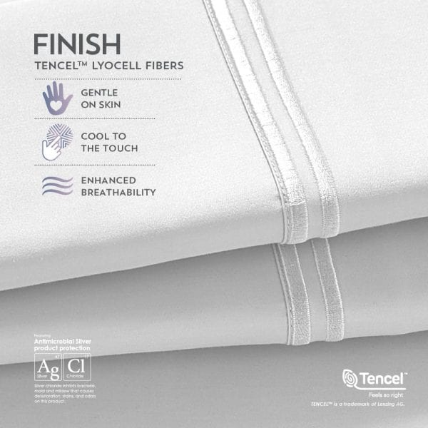 Premium Tencel Pillowcases Best Mattress