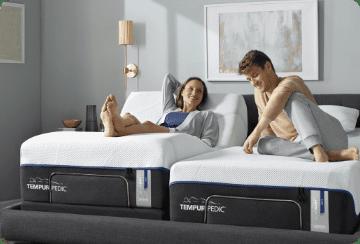 Tempur-Pedic Dual Adjustable King Bed