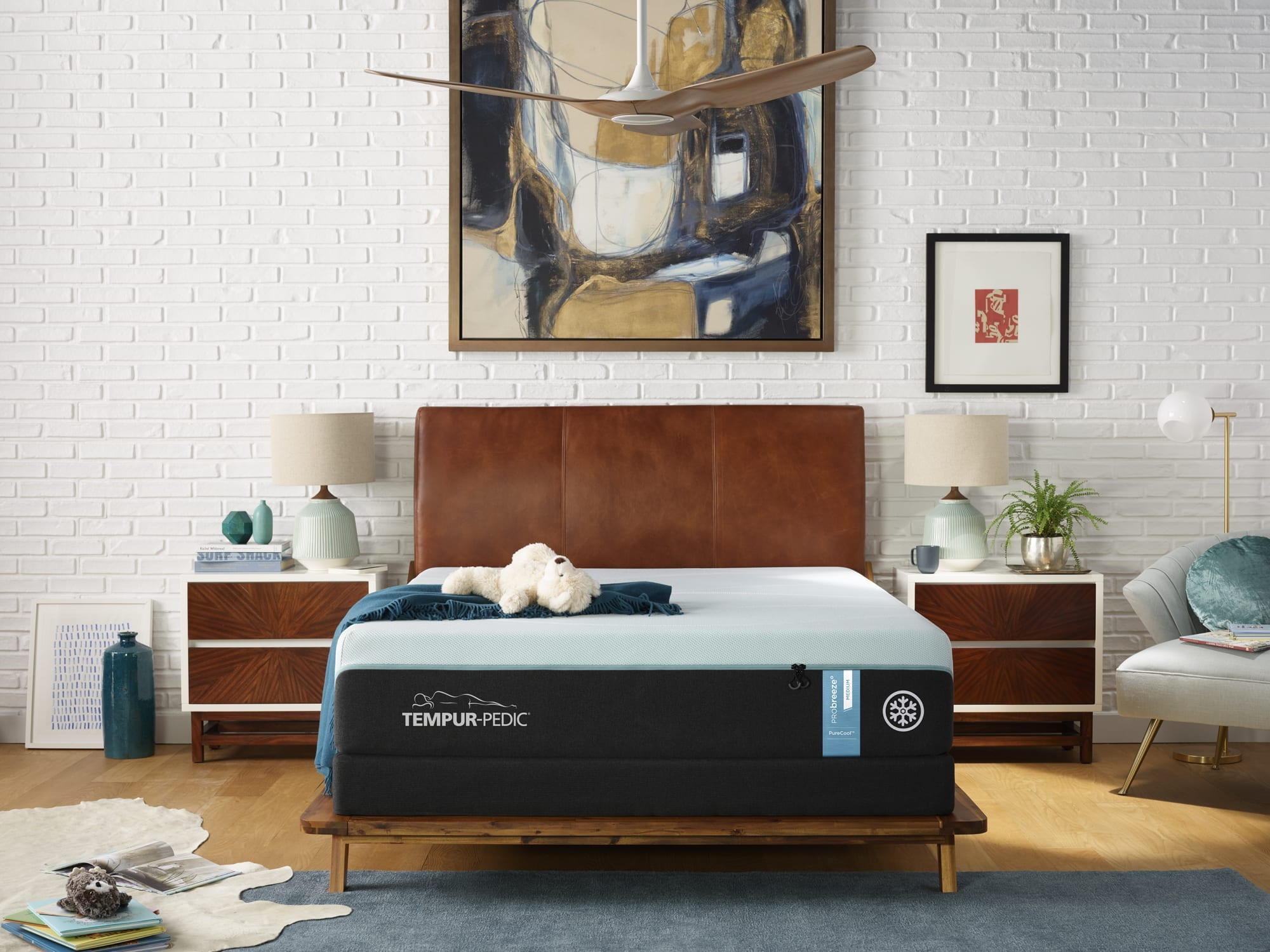 Tempur-ProBreeze Medium Queen Mattress