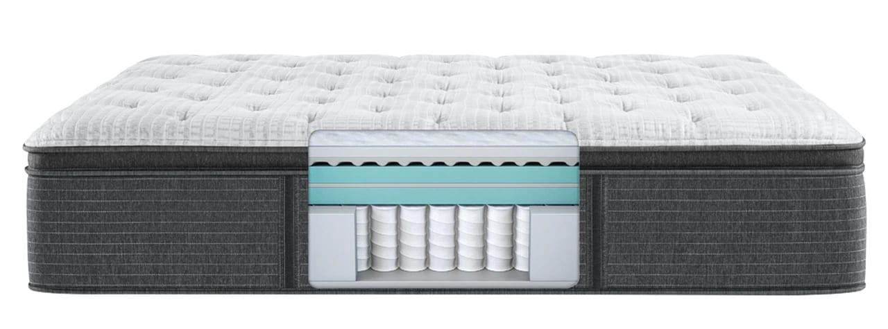 Beautyrest Ocala Plush Pillow Top mattress cutaway