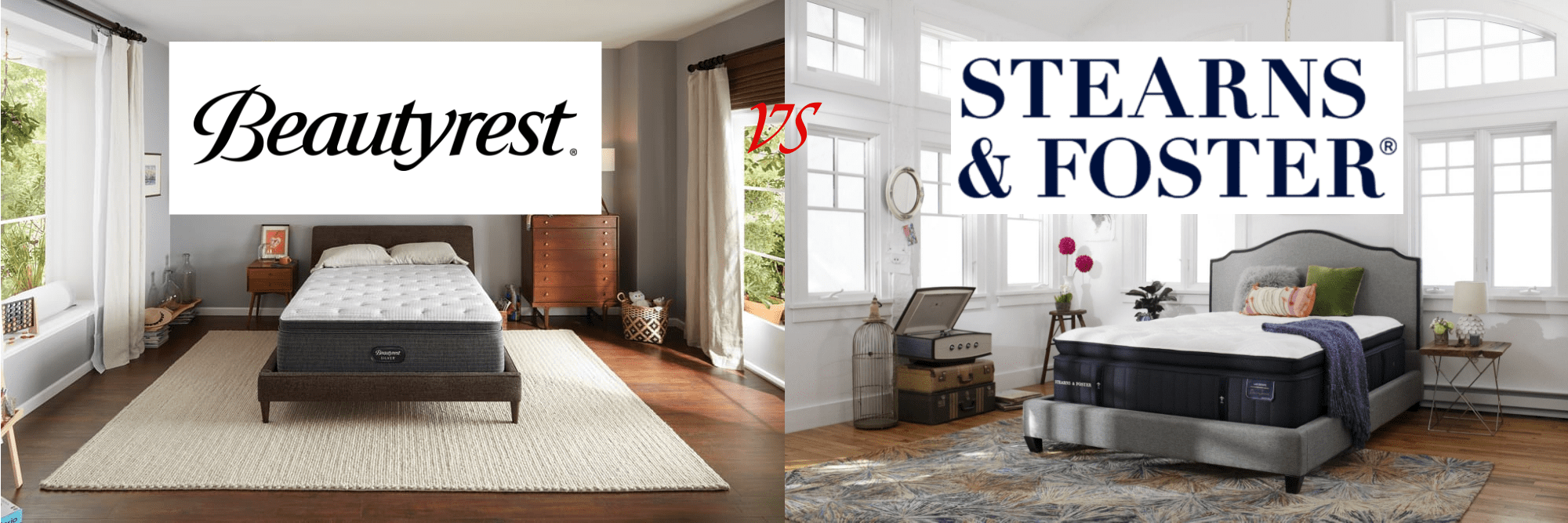 Beautyrest vs Stearns and Foster Mattresses