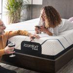 couple on Serta iComfort Mattress