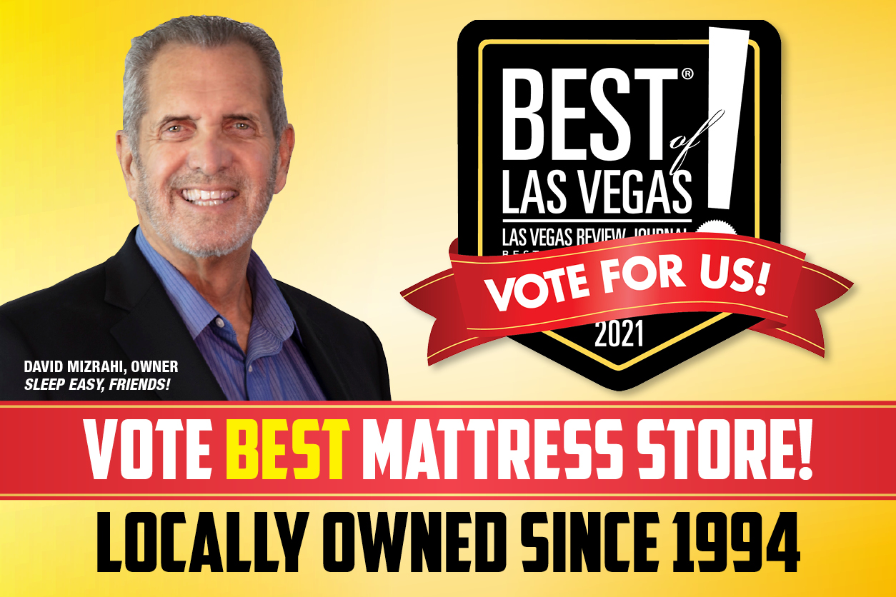 Vote Best Mattress Best of Las Vegas 2021